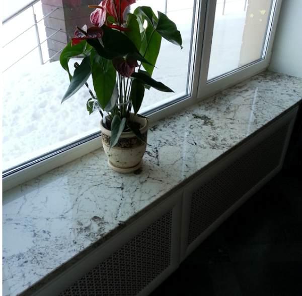 granit podokonnik - Гранитный подоконник: цена, где купить